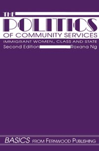 Politics of Community Services (second edition)
