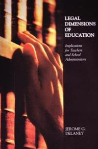 Legal Dimensions of Education