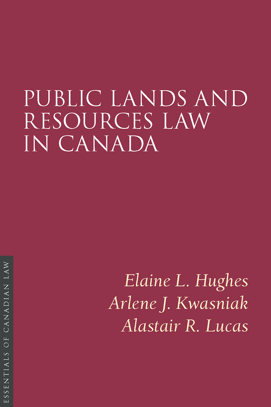 Public Lands and Resources Law in Canada