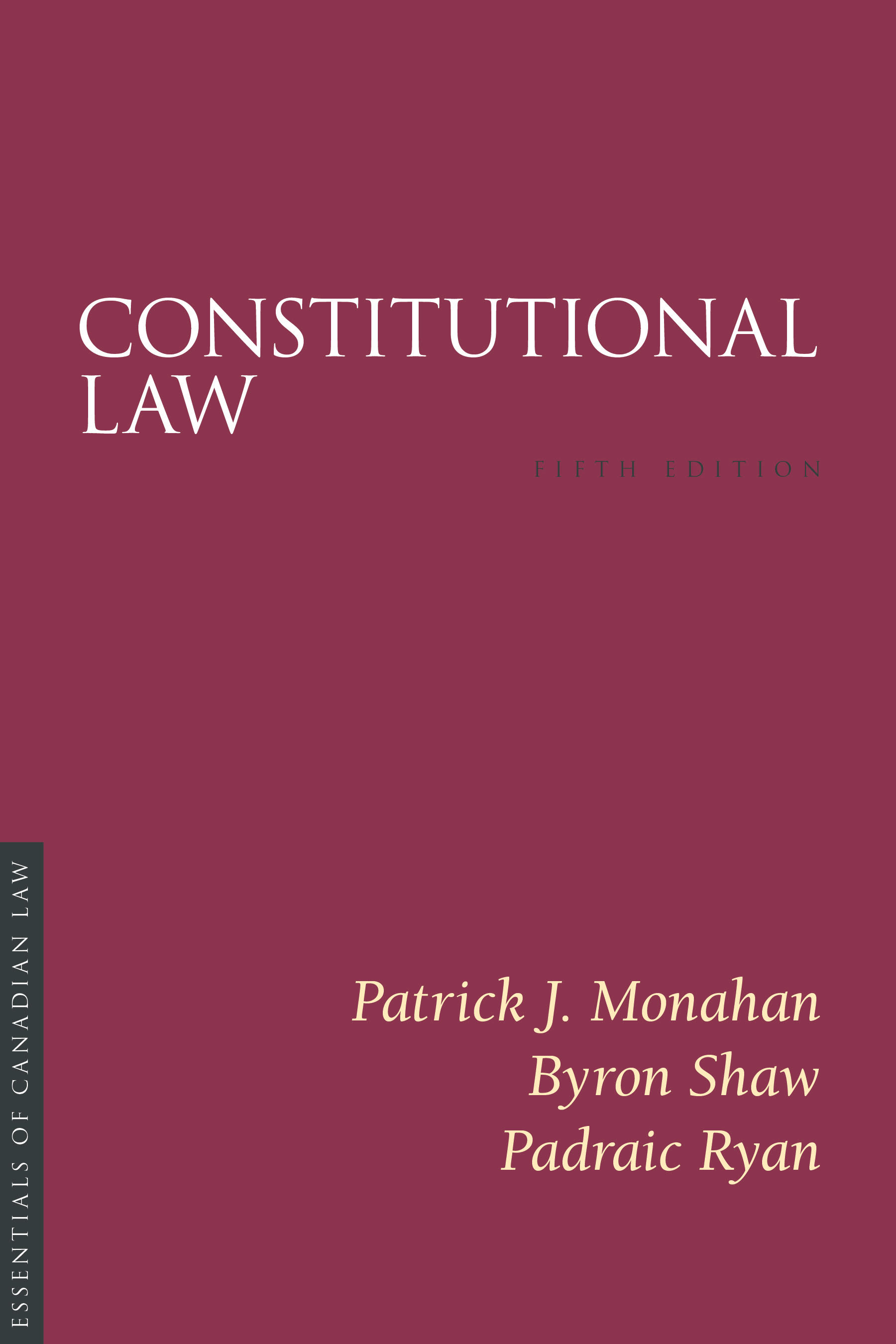 Constitutional Law, 5th edition