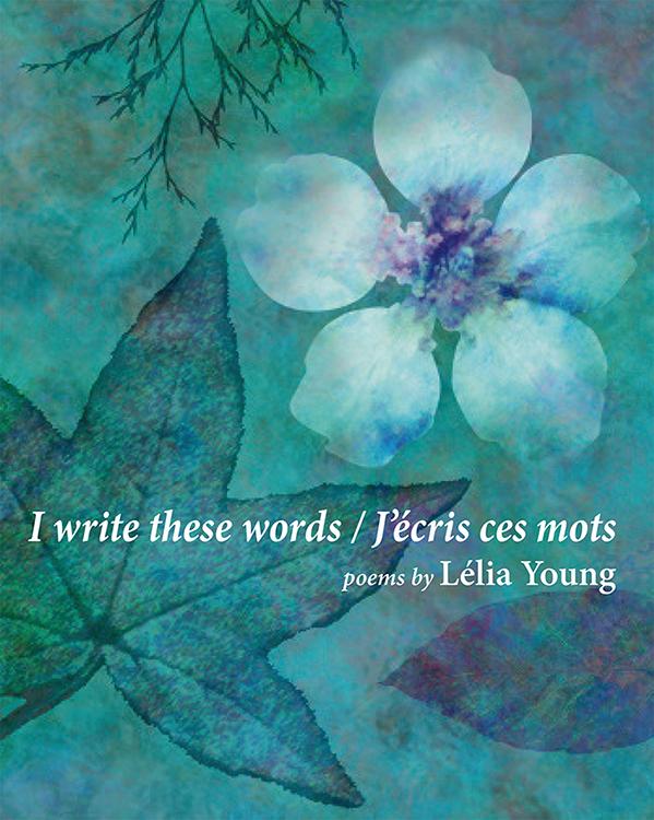 I write these words / J'écris ces mots