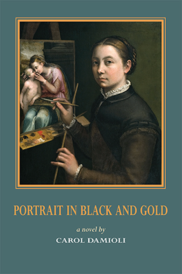 Portrait in Black and Gold